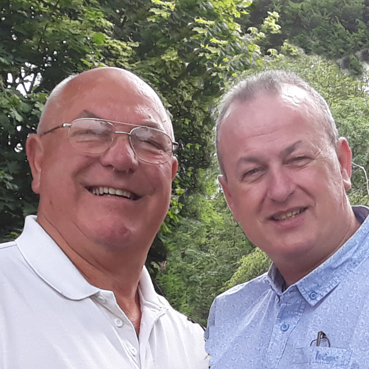 Paddy Prendergast and Brian Prendergast